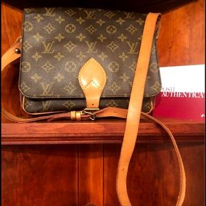 Authentic LV Cartouchiere GM